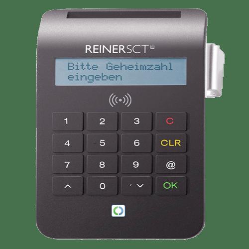 REINER SCT cyberJack RFID Chip Kartenlesegerät komfort